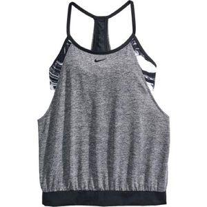 Nike tank with sports bra